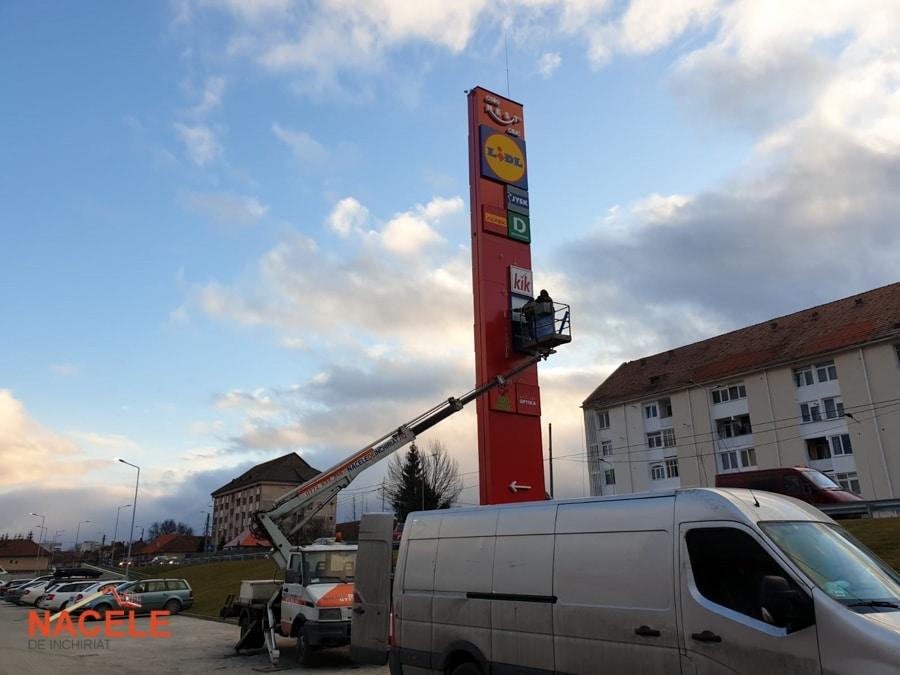 Închirieri nacele pentru lucru la înălțime Brașov
